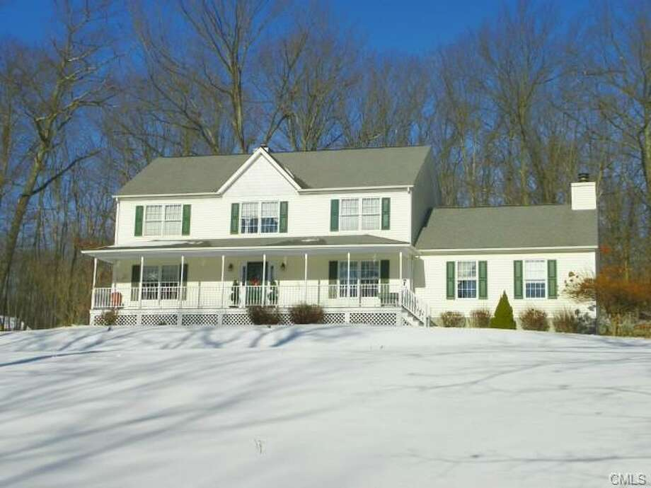 A half-million dollars will go a long way in the small town of New Fairfield, where we found this 3,040 square-foot four-bedroom house on 2 acres for $499,900. That's significantly higher than the $380,600 median value of an owner-occupied house in the blue-collar town.