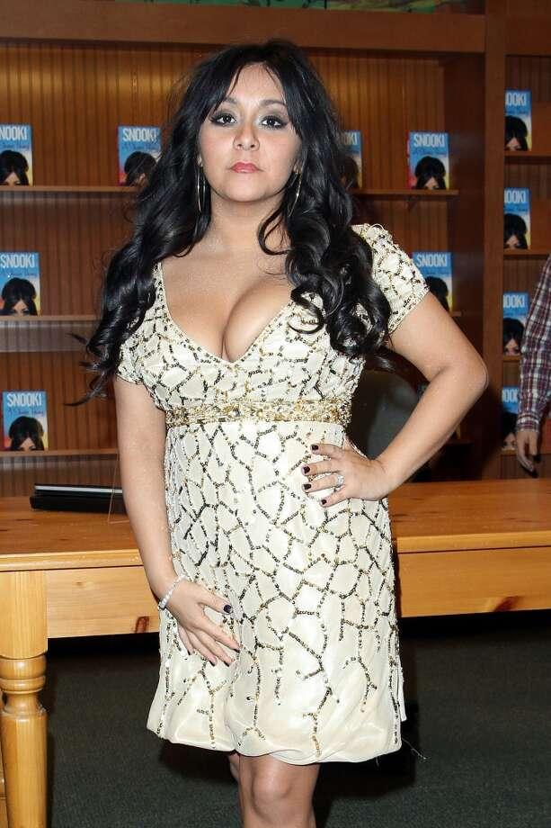 "BEFORE:  Nicole ""Snooki"" Polizzi promotes  her book ""A Shore Thing"" at Barnes & Noble on January 13, 2011 in Brick, New Jersey.  (Photo by Taylor Hill/Getty Images)"