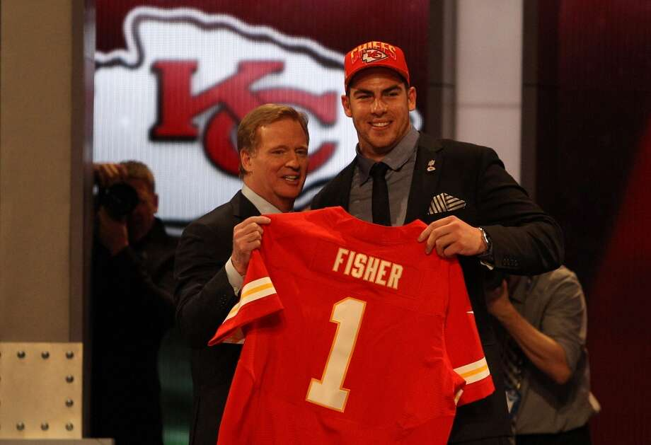 Eric Fisher of Central Michigan was drafted No. 1 overall by the Kansas City Chiefs.
