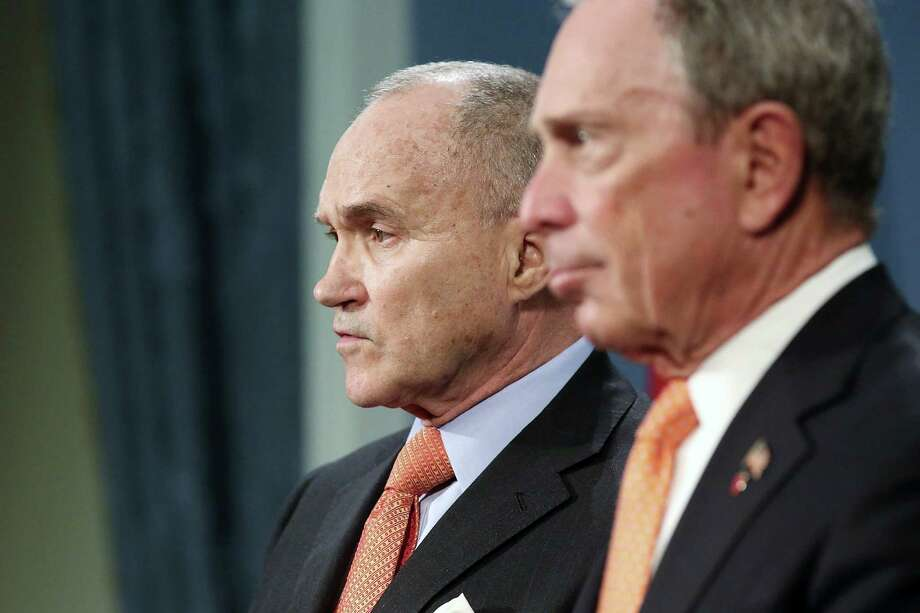 Police Commissioner Raymond Kelly, with Mayor Michael Bloomberg (right), said the suspects had multiple devices. Photo: Spencer Platt / Getty Images