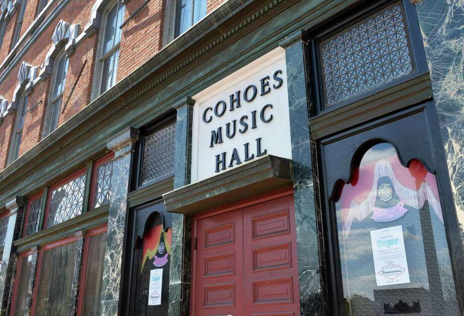 Exterior of the Cohoes Music Hall In Cohoes, NY Thursday April 25, 2013.  (John Carl D'Annibale / Times Union) Photo: John Carl D'Annibale / 10022157A