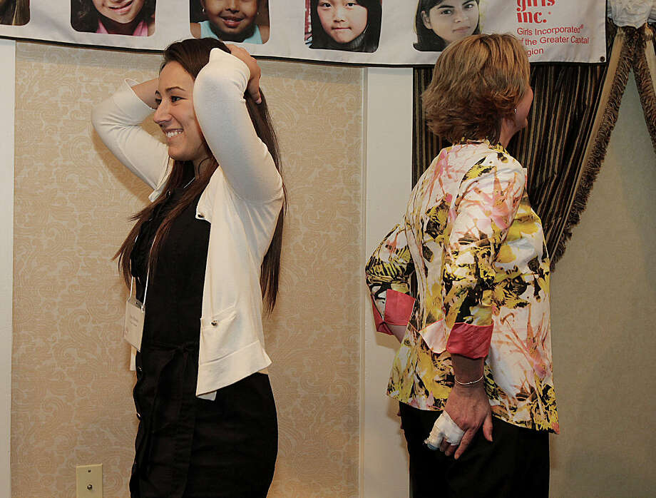 Were you Seen at the Girls Incorporated of the Greater Capital Region's 24th annual dinner and silent auction at Glens Sanders Mansion in Scotia on Thursday, April 25, 2013? Photo: Joe Putrock/Special To The Times Union