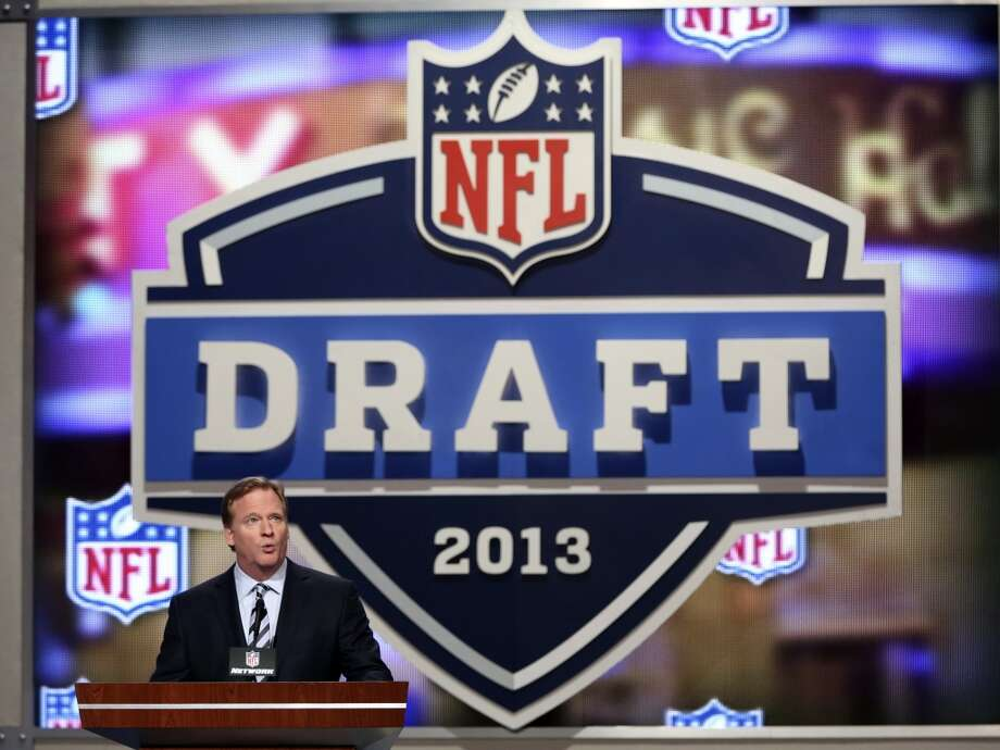 NFL Commissioner Roger Goodell opens the NFL football draft, Thursday, April 25, 2013, at Radio City Music Hall in New York.