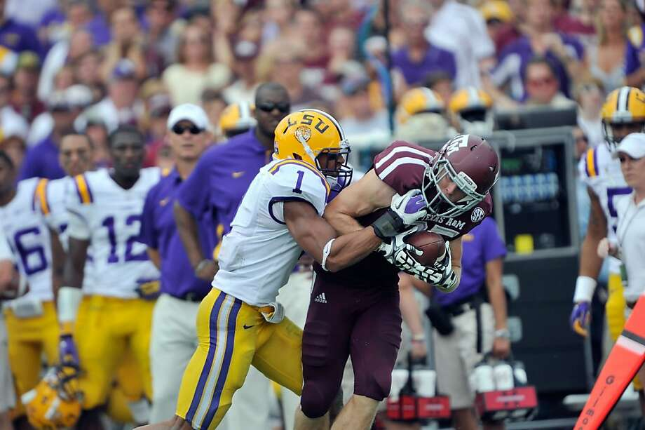 The 49ers wanted Eric Reid (1) badly enough that they set up a contingency trade with Dallas to climb 13 spots in the draft. Photo: Courtesy Photo, Louisiana State University