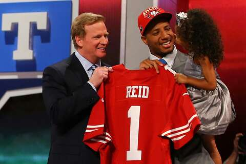 timeless design 3199b 970ef 49ers take LSU safety Eric Reid - SFGate
