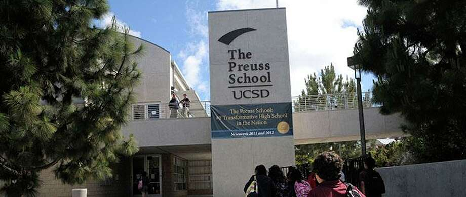The Preuss School, La Jolla: No. 4 in California, No. 30 in the nation.