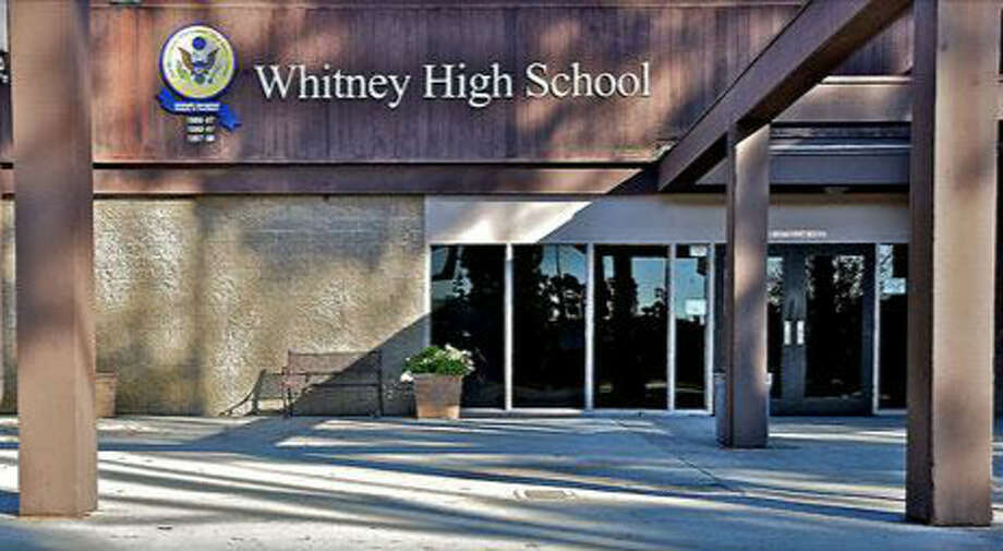 Whitney High School, Cerritos: No. 3 in California, No. 27 in the nation.