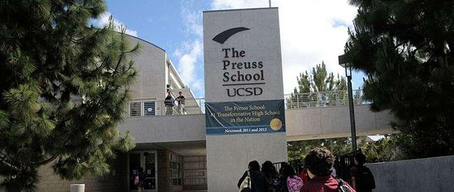 The Preuss School, La Jolla: No. 4 in California, No. 30 in the nation.