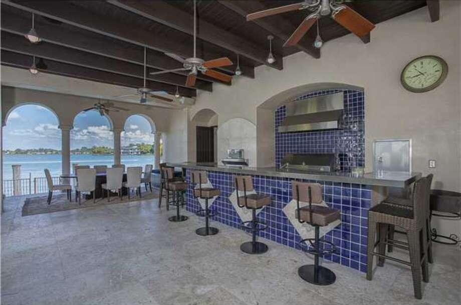 Pool bar. Photos via Realtor.com