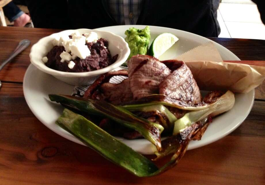 Grilled beef at Nido in Oakland