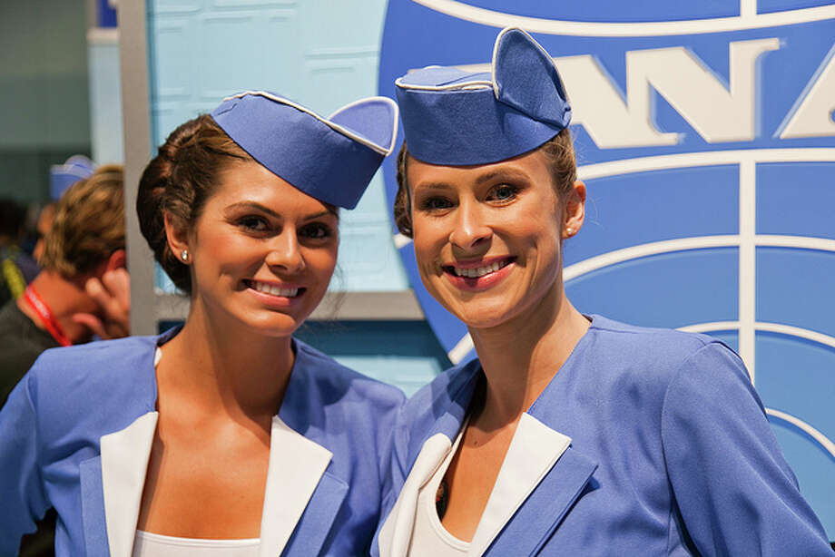 10. Flight attendant  Salary Median: $37,740 Projected Job Growth: 0% Photo: Kevin Baird