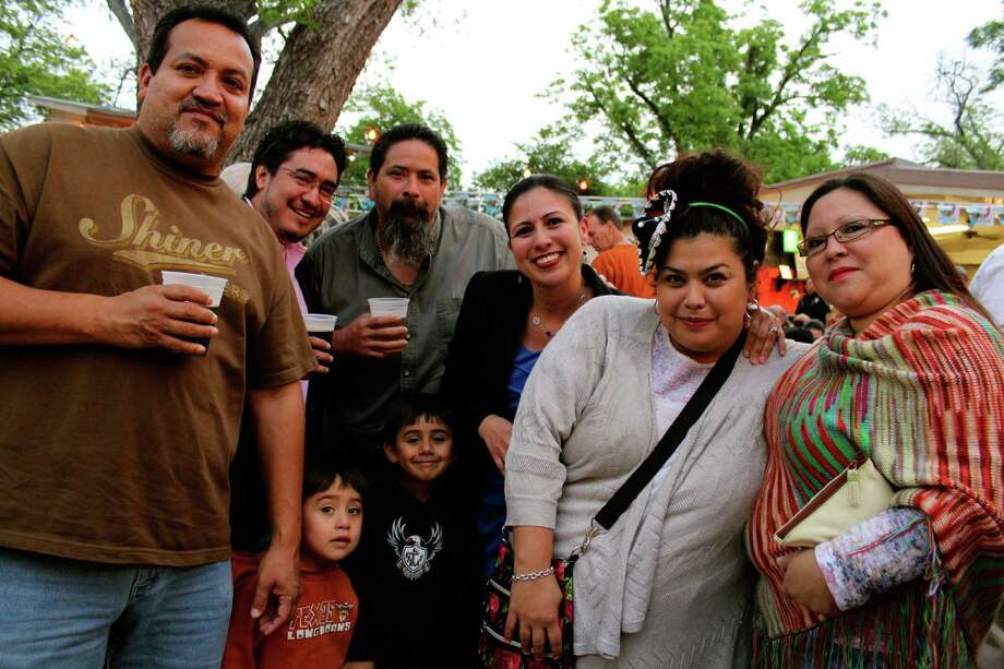 Fiesta Gartenfest at Beethoven Garten, April 25, 2013 Photo: Yvonne Zamora / For The Express-News