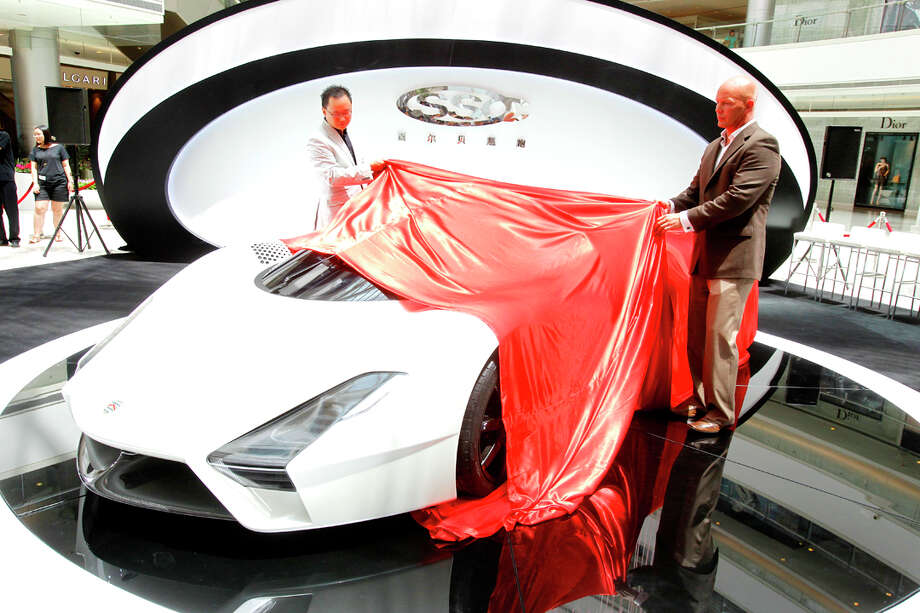 The SSC Tuatara may be the fastest production car ever produced. The car reportedly can produce 1,350 horsepower on premium gas. Photo: Shelby Super Cars