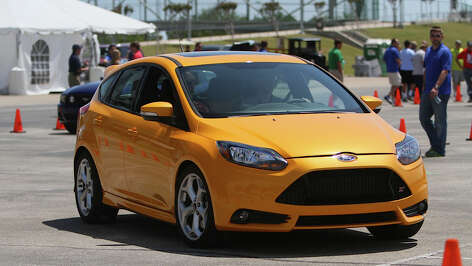 Ford Focus ST is used to help teach youth how to use a manual transmission.
