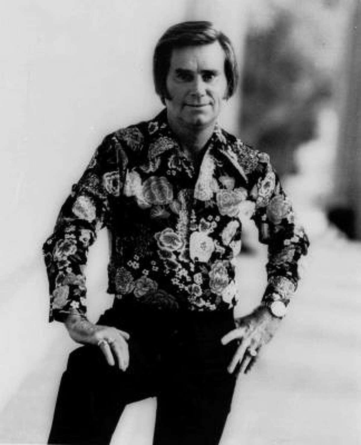 This publicity still of George Jones was taken in June 1977.