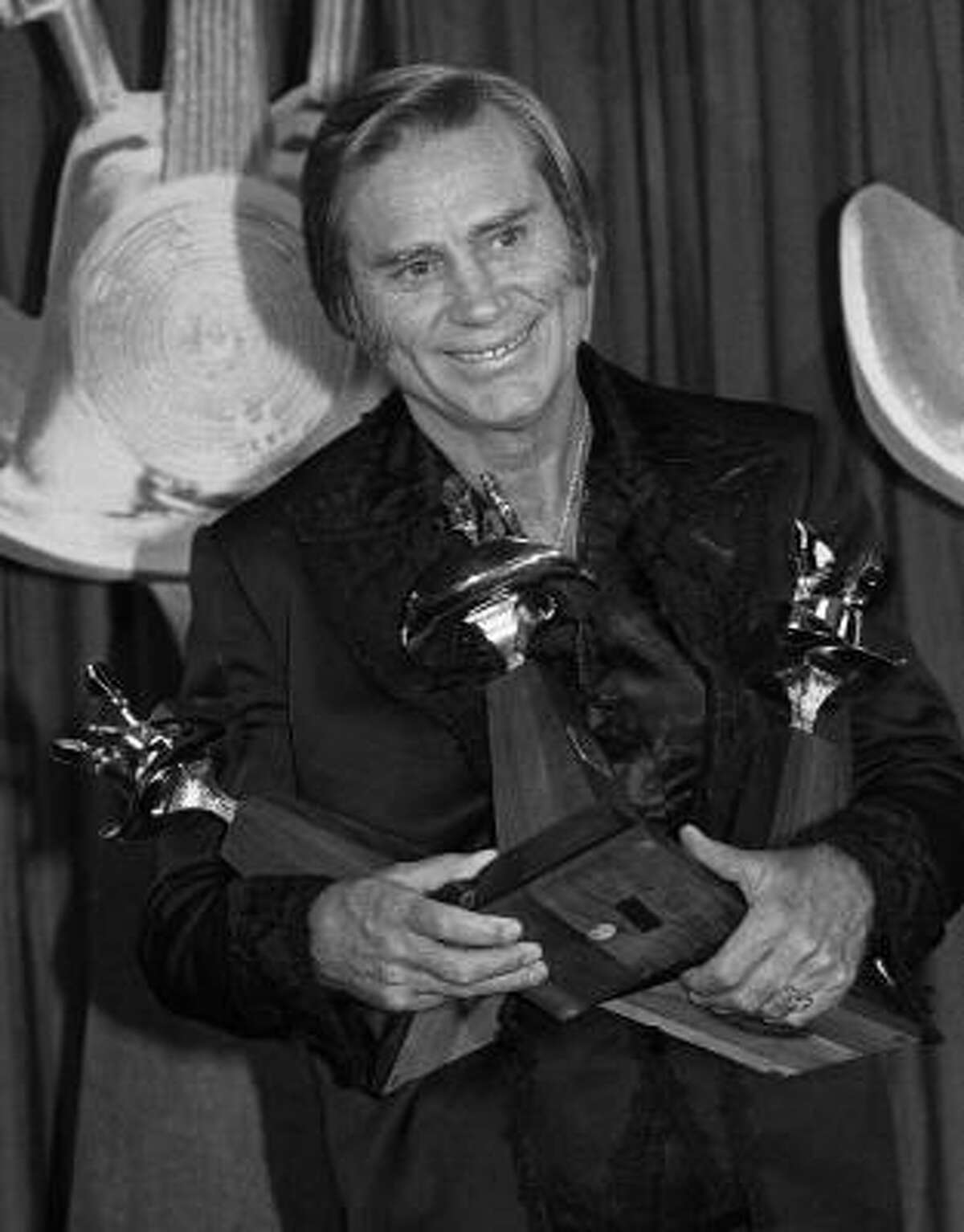 George Jones received three awards during the 16th Annual Country Music Awards in May of 1981.