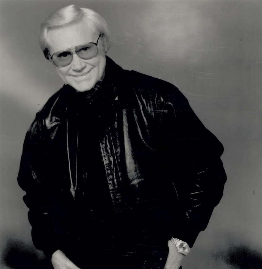 Press photo of George Jones from MCA Nashville. Photo: The Beaumont Enterprise archives.