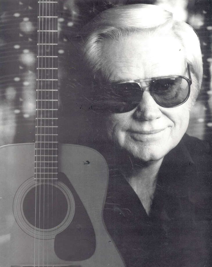 George Jones. Photo: The Beaumont Enterprise archives.