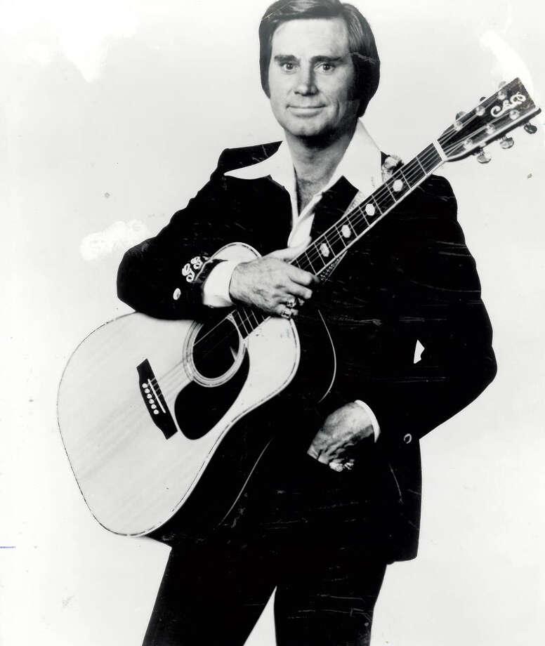 George Jones. Photo: The Beaumont Enterprise archives.
