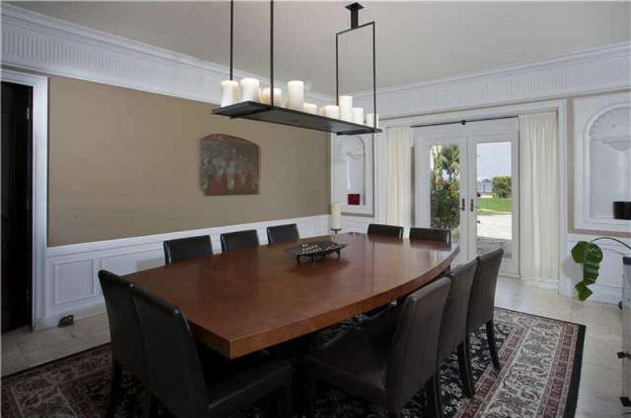 Dining area. Photos via Realtor.com