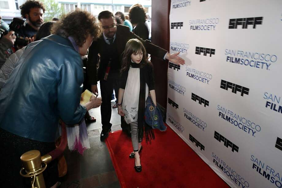"Onata Aprile stars in ""What Maisie Knew,"" which opened the S.F. International Film Festival at the Castro Theatre. Photo: Carlos Avila Gonzalez, The Chronicle"
