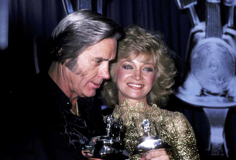George Jones and Barbara Mandrell during 1991 Academy of Country Music Awards at Shrine Auditorium in Los Angeles, California, United States. (Photo by Ron Galella/WireImage) Photo: Ron Galella, Getty Images / Ron Galella Collection