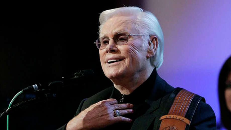 "Country music star George Jones performs one of his biggest songs, ""He Stopped Loving Her Today,"" during his 75th birthday celebration at the Grand Ole Opry House in Nashville, Tenn., Tuesday, Sept. 12, 2006. Photo: MARK HUMPHREY, . / Beaumont"