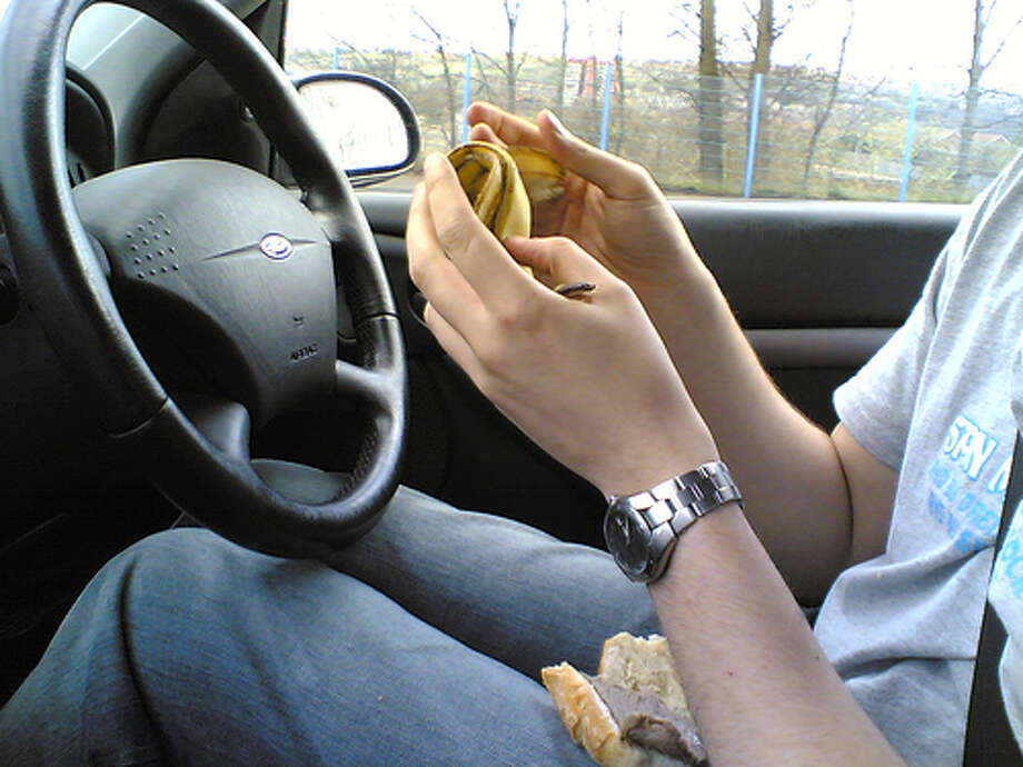 6. Eating or drinking, 2 percent of distracted drivers. Photo: junkmonkey, Flickr