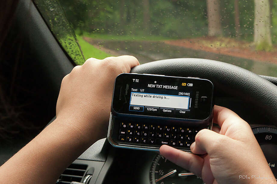 2. Cellphone use (talking, listening, dialing, texting), 12 percent of distracted drivers. Photo: VCU CNS, Flickr