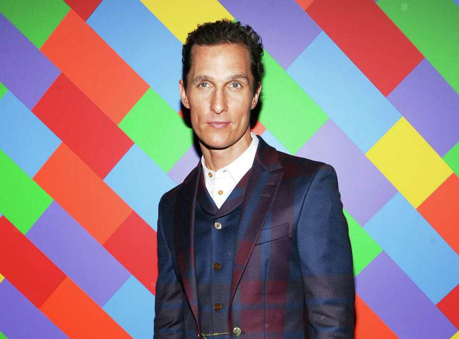 "FILE - This April 21, 2013 file photo shows actor Matthew McConaughey at the premiere of ""Mud"" hosted by The Cinema Society with FIJI Water & Levi's at the Museum of Modern Art  in New York.  McConaughey stars in the film with Reese Witherspoon. (Photo by Evan Agostini/Invision/AP, file) Photo: Evan Agostini"
