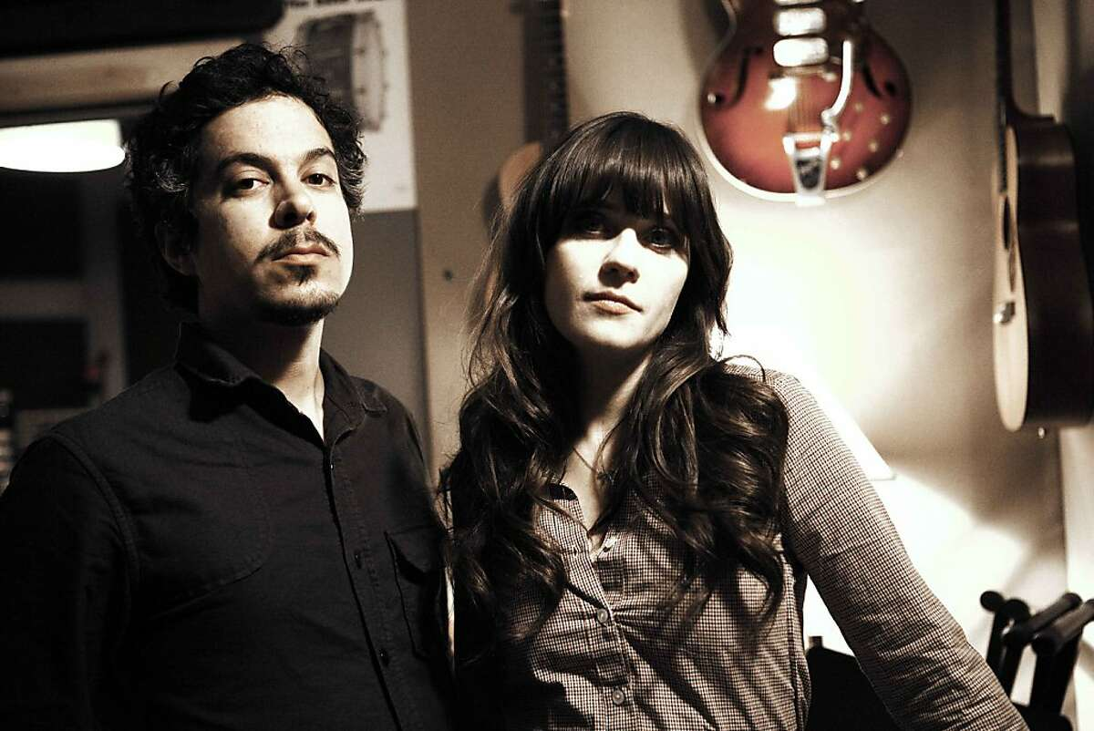 M. Ward and Zooey Deschanel of She and Him.