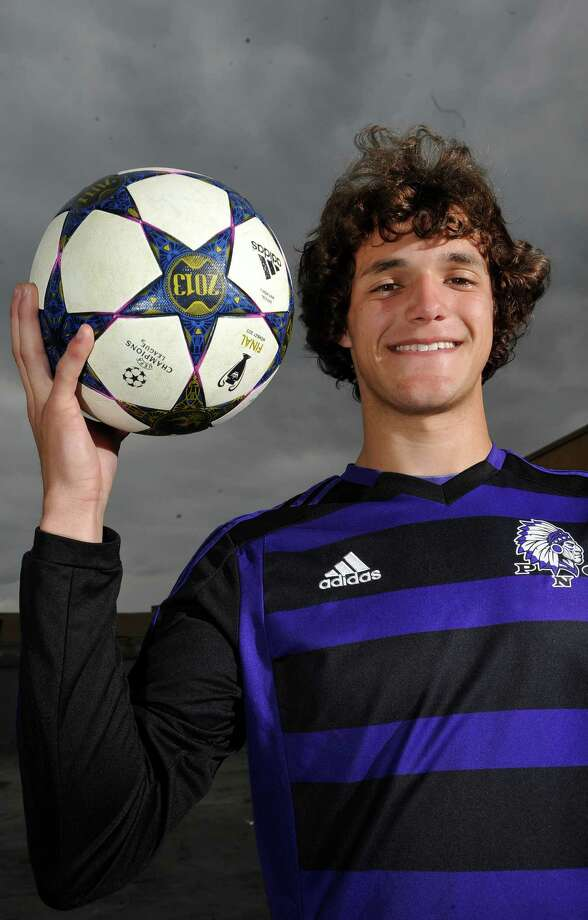 Port Neches-Groves forward Isaac Addison is the boys 2013 Super Gold Soccer MVP of the Year.  Dave Ryan/The Enterprise Photo: Dave Ryan