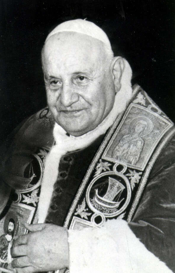 "This year marks the 50th anniversary of Pope John XXIII's ""Pacem in Terris"" (Peace on Earth) document, which was written because of troubling signs of the times. Photo: Associated Press File Photo"