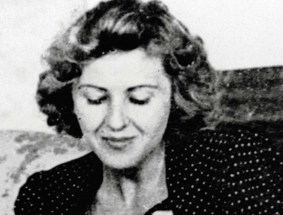 "Adolf Hitler's ""conventional"" mistress, Eva Braun. Photo: Associated Press / EVA BRAUN'S PICTURE ALBUM VIA US"