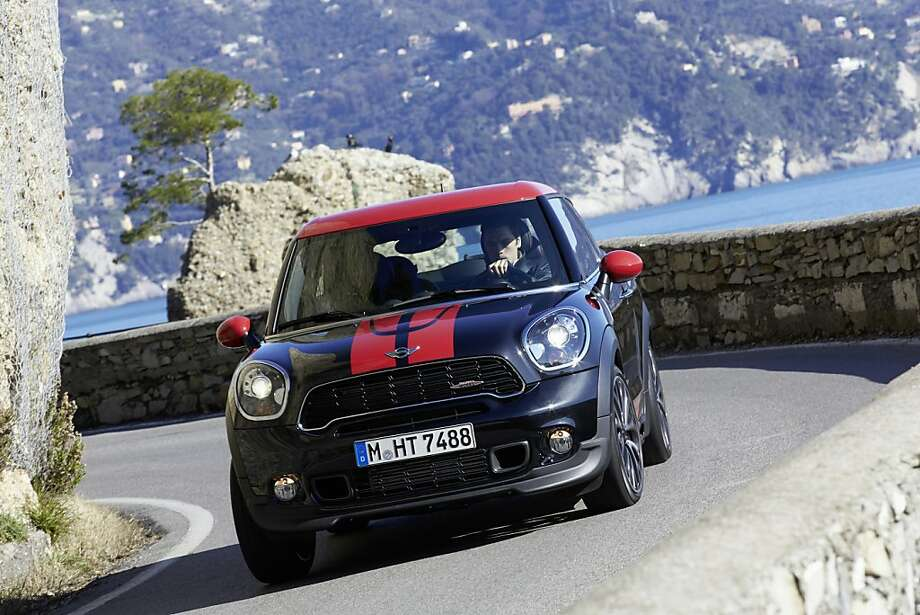 The two-door Paceman is functional with an accommodating interior. Photo: Courtesy MINI