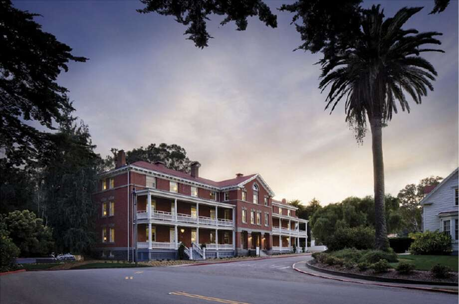 The Presidio Inn in San Francisco, restored by Architectural Resources Group and recipient of an Honor Award for Preservation from AIASF.
