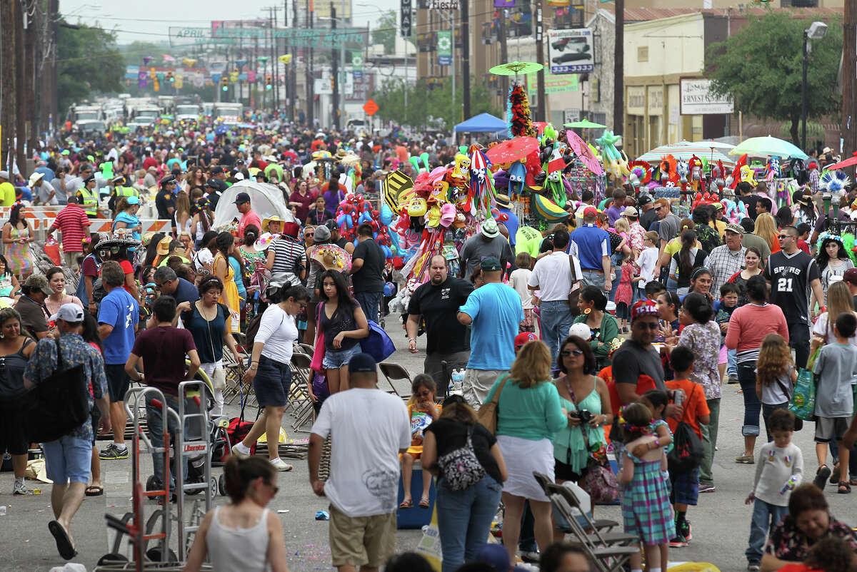 3.5 million people is the estimated attendance of this year's Fiesta San Antonio.