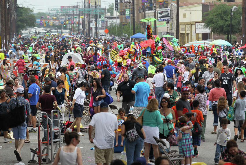 3.5 million people is the estimated attendance of this year's Fiesta San Antonio.