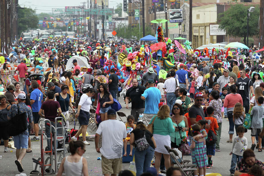 3.5 million peopleis the estimated attendance of this year's Fiesta San Antonio. Photo: Kin Man Hui, San Antonio Express-News / © 2013 San Antonio Express-News