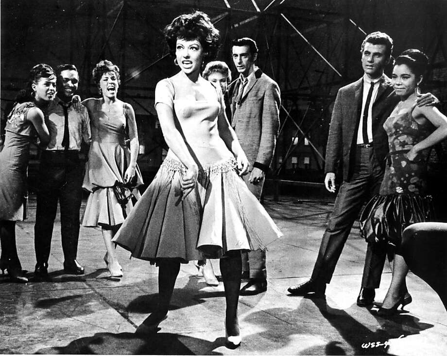 "'West Side Story'- Natalie Wood, Richard Beymer, Russ Tamblyn and Rita Moreno (center) star in ""West Side Story,"" one of cinema's greatest musicals. Photo: Handout Art"