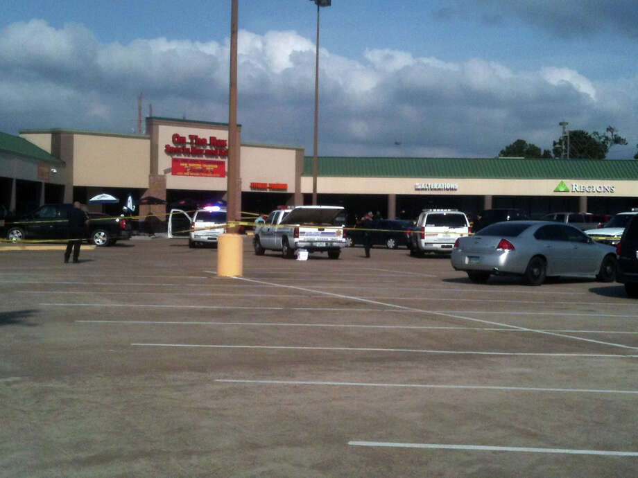 Three armed men entered Regions Bank, 7044 E. FM 1960 about 2 p.m. and demanded money, said sheriff's spokesman Deputy Thomas Gilliland. Photo: Robert Stanton/Chronicle