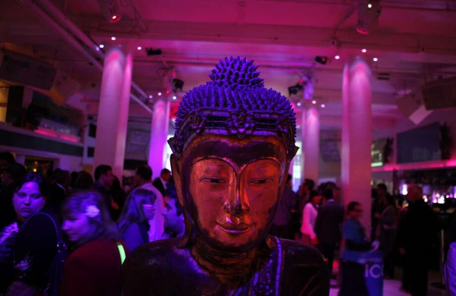 A statue of the Buddha at the 56th San Francisco International Film Festival opening night party at Temple Nightclub in San Francisco, Calif., on Thursday, April 25 2013.