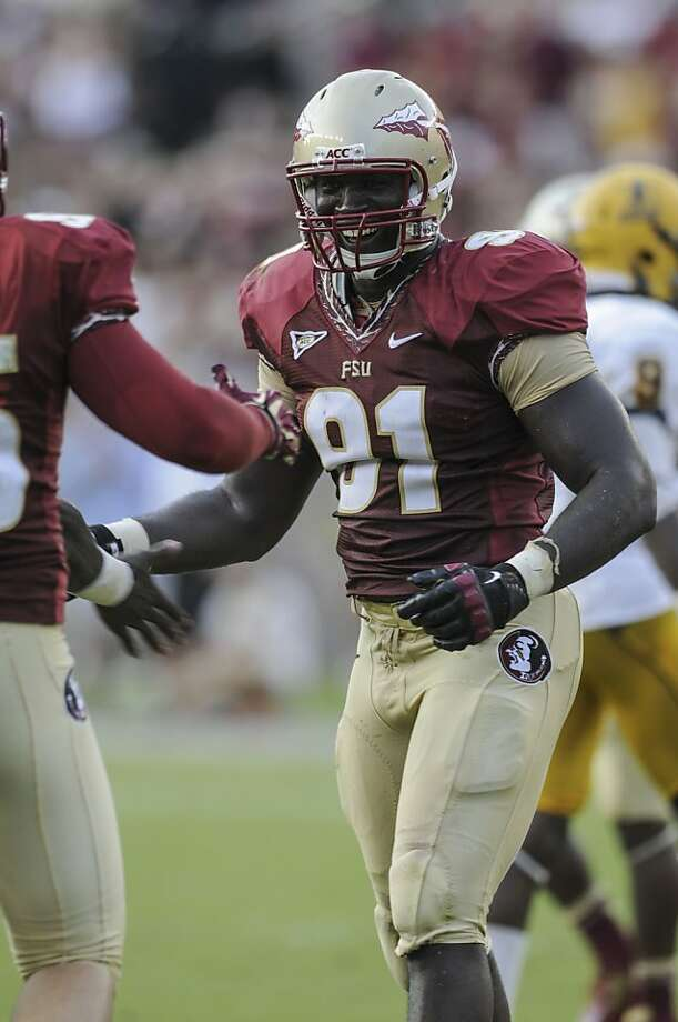 "Cornellius ""Tank"" Carradine, Florida State Photo: Courtesy Florida State Universit"