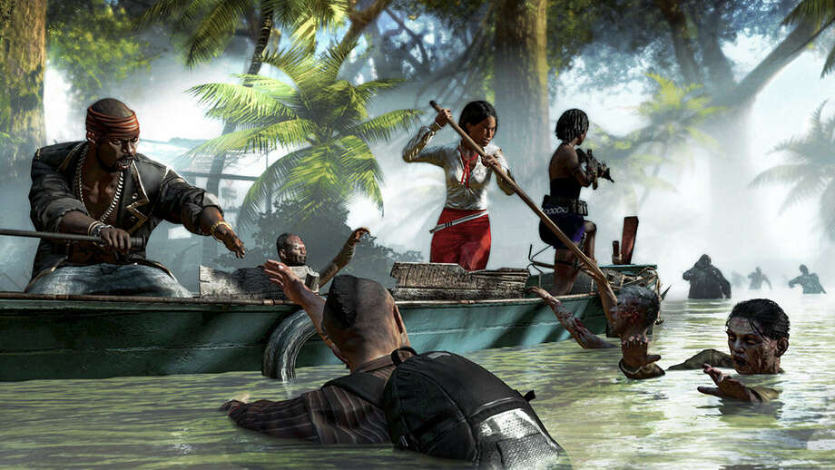 "Survivors from ""Dead Island"" are back for more undead tropical fun in Deep Silver's ""Dead Island Riptide."" Joined by new survivors, they're on a new island with new a mission and, of course, a horde of zombies. Photo: Courtesy Deep Silver"