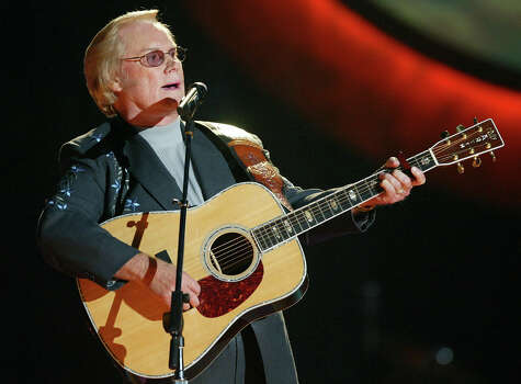 "** EMBARGOED FOR USE UNTIL 12:01 A.M. CDT, THURSDAY JUNE 5 ** Country music legend George Jones performs ""He Stopped Loving Her Today"" the number two song of Country's 100 Best Songs during Country Music Television's tribute to the 100 greatest songs of country music in Nashville, Tenn., Wednesday, June 4, 2003. (AP Photo/John Russell) Photo: JOHN RUSSELL, STR / AP"