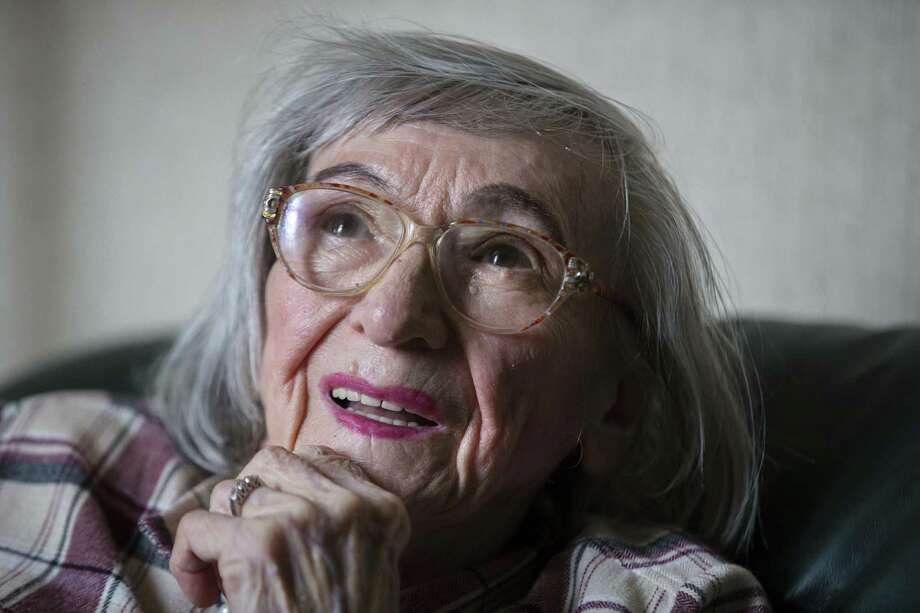 Margot Woelk, who spent 21/2 years as one of Hitler's food tasters, had kept her work a secret since the war. Photo: Markus Schreiber / Associated Press