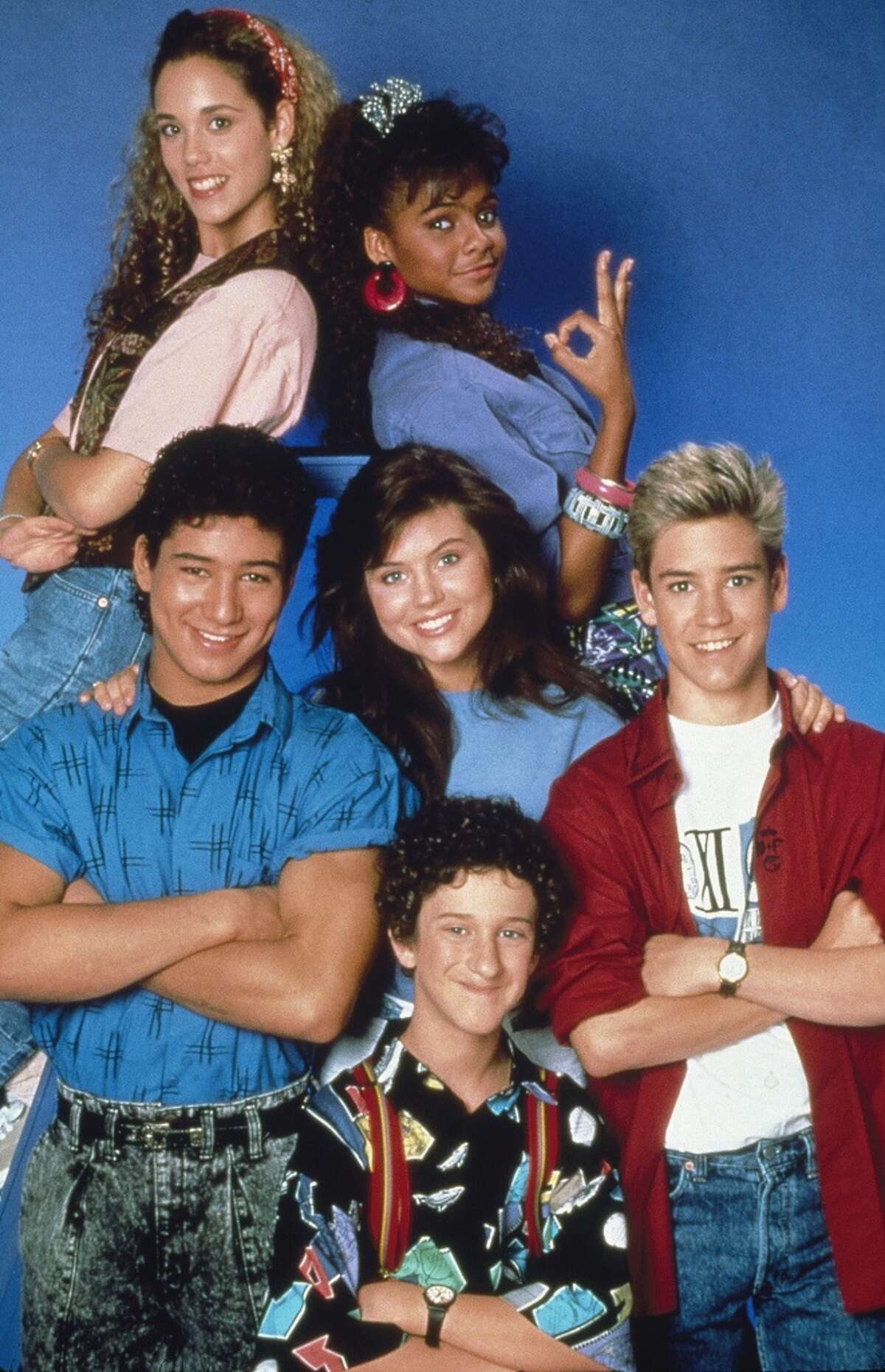 1. 'Saved by the Bell' - Tiffani-Amber Thiessen, Mario Lopez, Elizabeth Berkley, Mark-Paul Gosselaar, Lark Voorhies and Dustin Diamond got their start at Bayside High School as Kelly, Slater, Jesse, Zack, Lisa and Screech, and later went on to varying levels of success. The final episode aired in May of 1993, and was followed later that year by the spinoff,