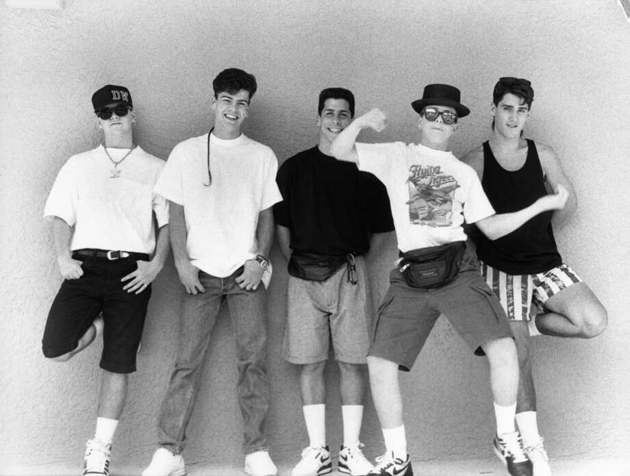 Ever danced with a fanny pack.   (New Kids on the Block, 1989).