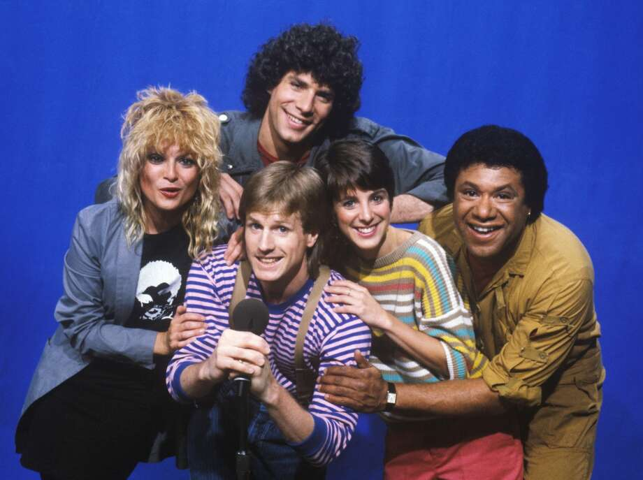 You're a Gen Xer if you remember when MTV launched in 1981 and how you begged your parents for cable.   (Pictured are MTV's early-year VJs, L-R: Nina Blackwood; Mark Goodman, top;  Alan Hunter, bottom; Martha Quinn and JJ Jackson).