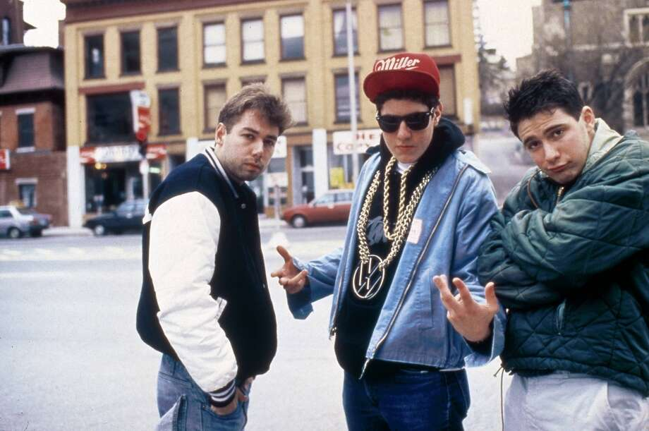 Owned the record ''Licensed to Ill'' (1986). Or the cassette tape.   (Beastie Boys, 1987).
